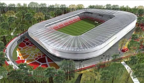 Stadium Design Plan Design of Great Forest Stadium