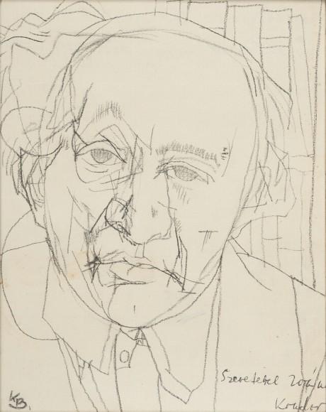 Kondor Béla Füst Milán portréja_Antal-Lusztig gy_(1)