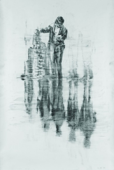 Attila Szűcs- Drawing, 2011. 10. 13., pencil on paper, Deák Erika Gallery