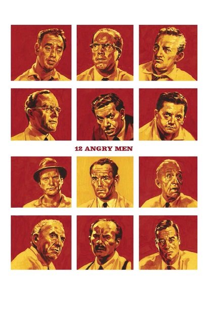 12 angry men group development stages