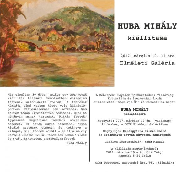 Huba Mihály mail