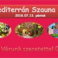 Sauna Team Debrecen – Mediterranean Sauna Night on Friday